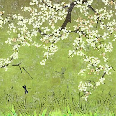 Elitis behang Les cerisiers sauvages TP 289 03